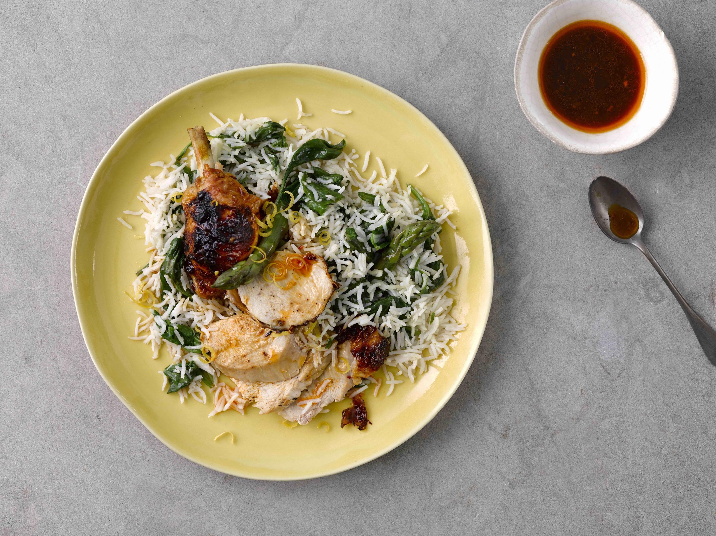 The delicious lemon and chilli chicken recipe from Tilda