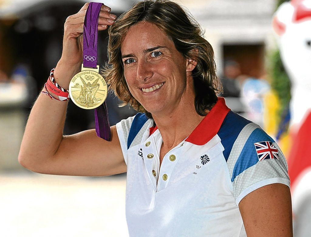 Olympic gold medal winning rower Katherine Grainger (Tom Dulat/Getty Images)