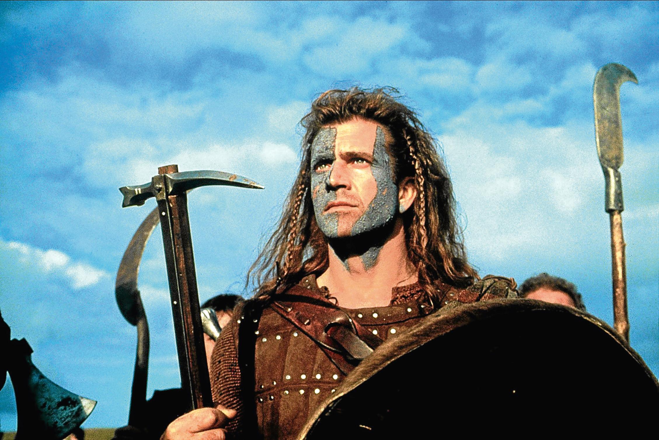 Mel Gibson in Braveheart (Allstar/Cinetext/PARAMOUNT)