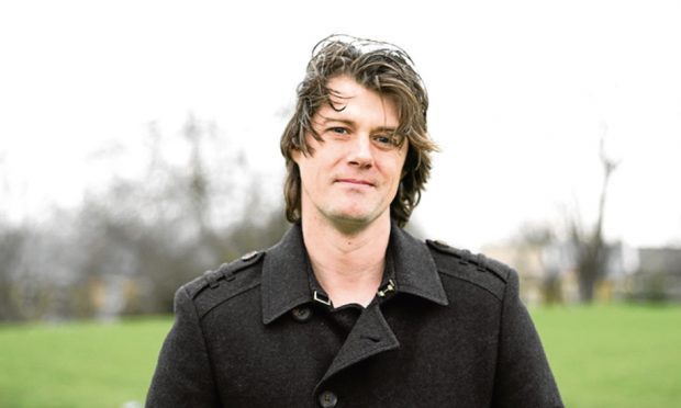 Author Mark Stevenson
