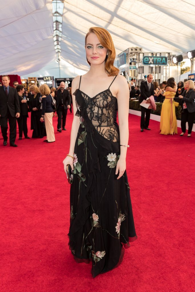 Emma Stone has already won a Golden Globe and a SAG award for her performance in La La Land (Christopher Polk/Getty Images for TNT)