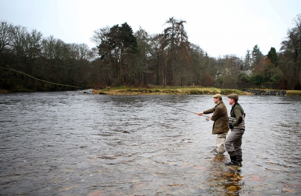 Alexander armstrong toasts health of salmon as fishing for Pa fishing season 2017