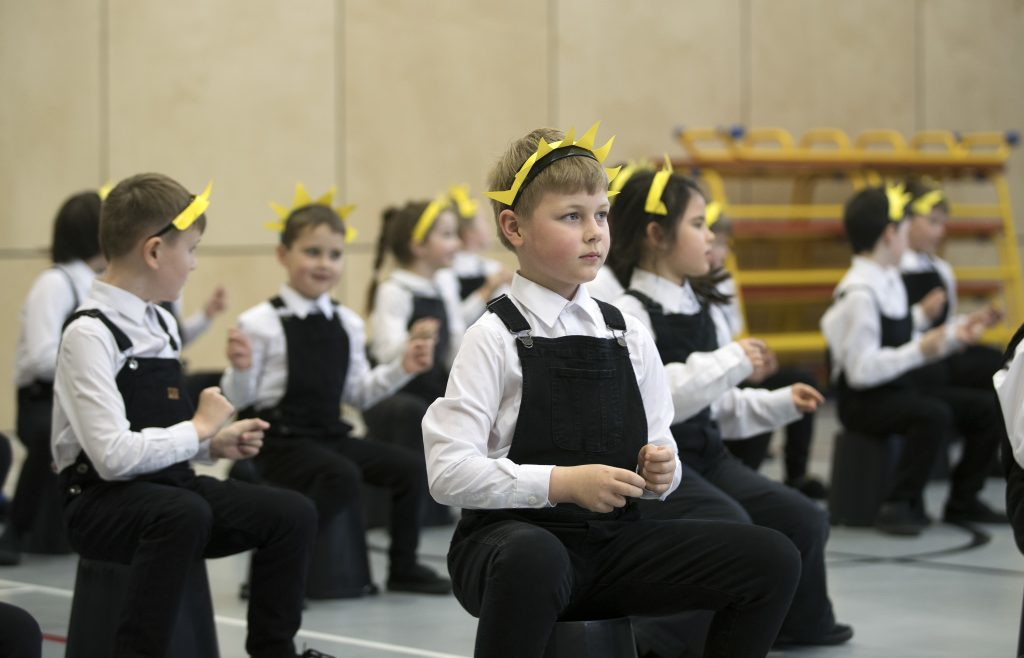 Oor Wullie show performed by pupils of Oakbank Primary School in Perth (Graeme Hart / Perthshire Picture Agency)