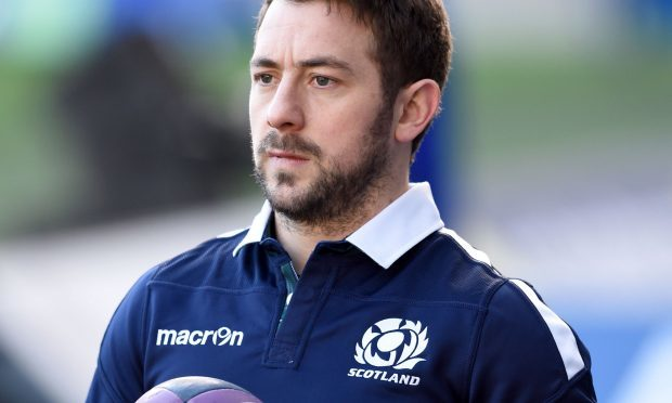 Scotland's Greig Laidlaw (Ian Rutherford/PA Wire)