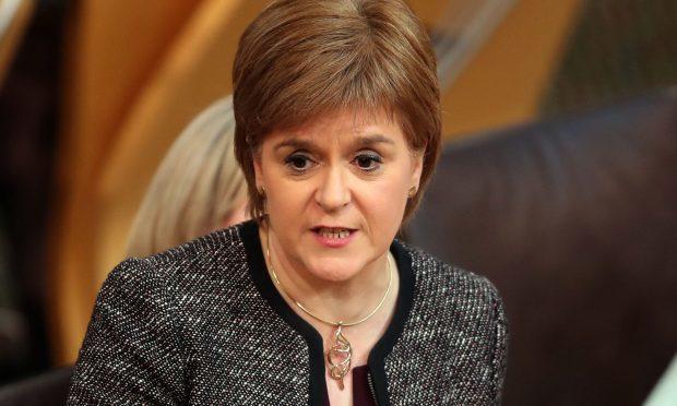 Scotland's First Minister Nicola Sturgeon (Jane Barlow/PA Wire)