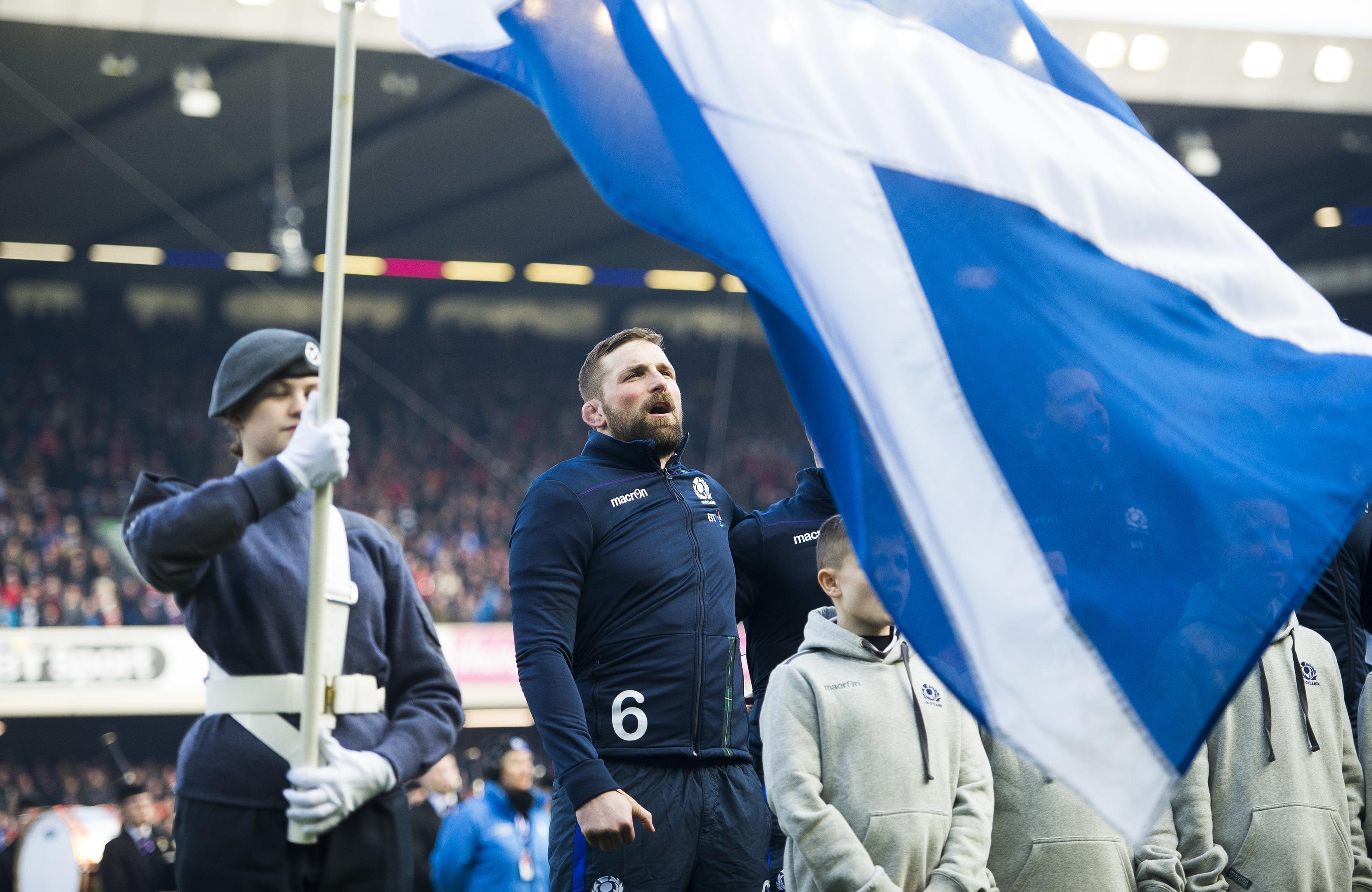 Scotland captain John Barclay (SNS)
