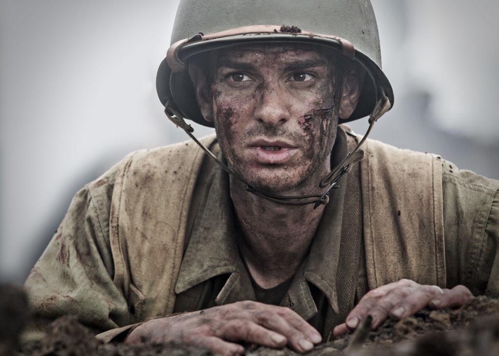 "Andrew Garfield in a scene from ""Hacksaw Ridge."" (Mark Rogers/Summit via AP)"