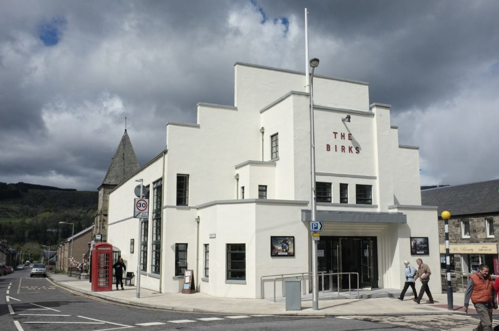 The Birks Cinema in Aberfeldy.