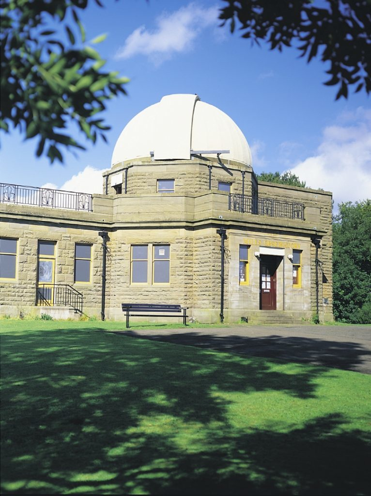 Mills Observatory, Balgay Park, Dundee featuring a planetarium, astronomy and space exploration. (VisitScotland Angus & Dundee)