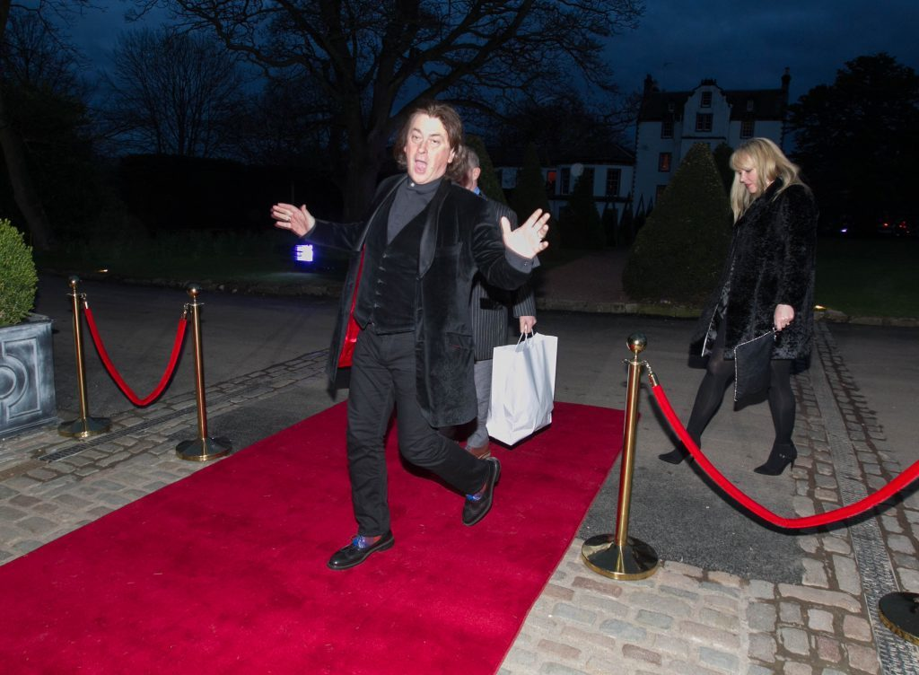 Chairman of Nordoff Robbins and Sunday Post Columnist Donald McLeod arrives on the red carpet (Chris Austin / DC Thomson)