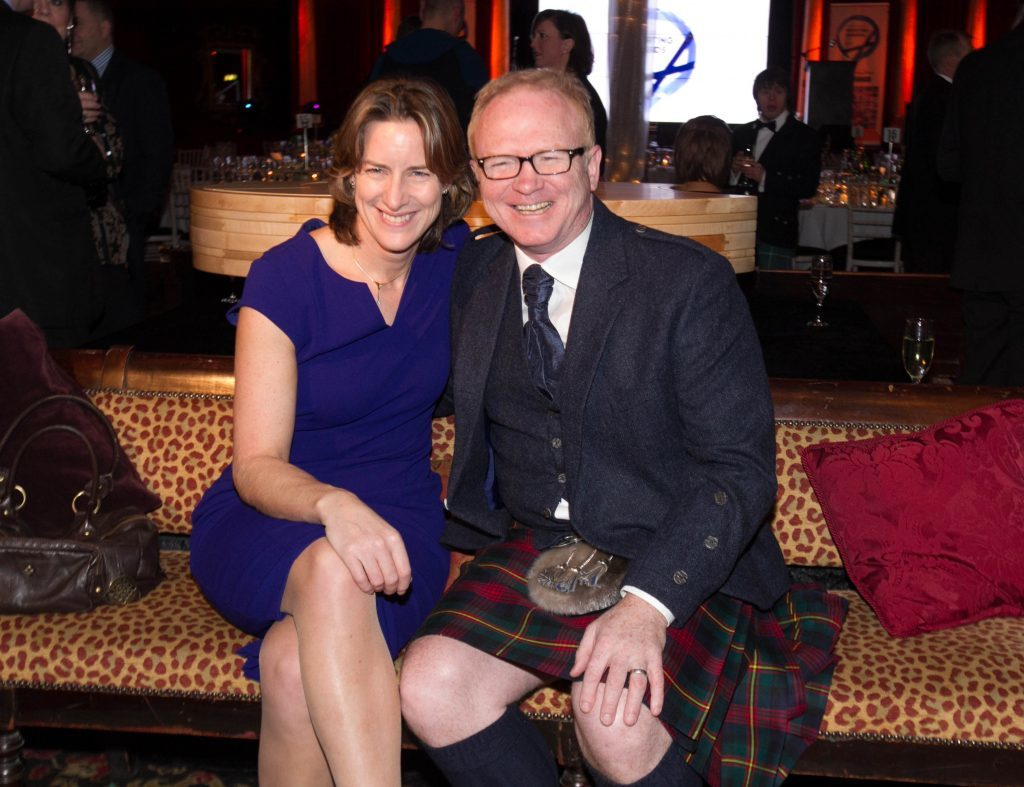 Alex McLeish and Dame Katherine Grainger (Chris Austin / DC Thomson)