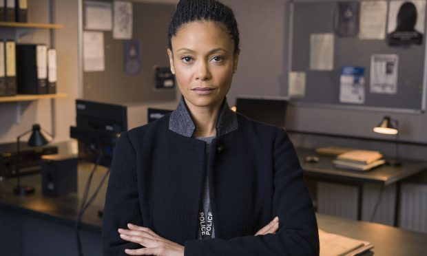 Thandie Newton as Detective Chief Inspector Roz Huntley (Des Willie / Ward Productions)