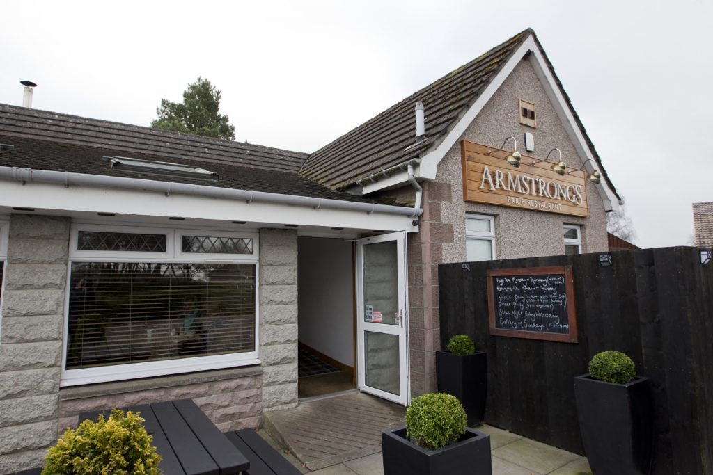 Armstrong's restaurant, near Glamis. (Andrew Cawley)