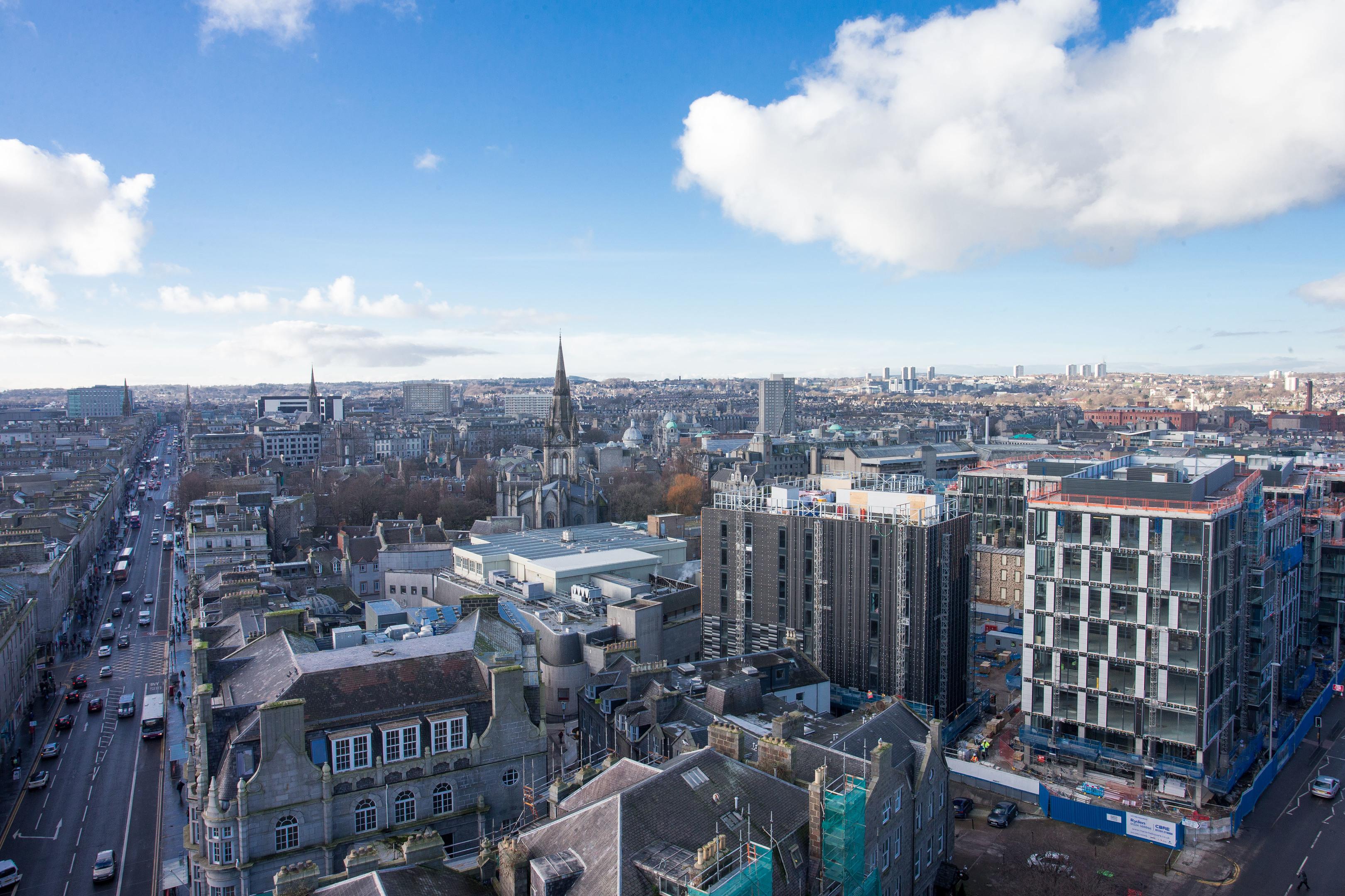 Marischal Square, Aberdeen (Newsline Media)