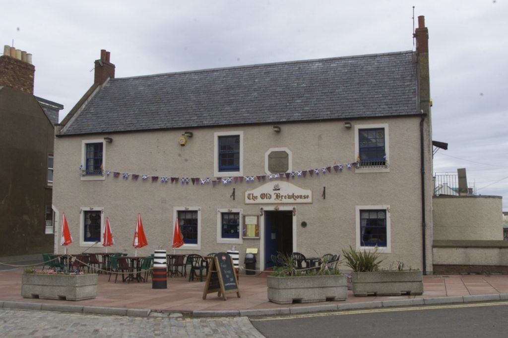 The Old Brewhouse at the harbour in Arbroath.