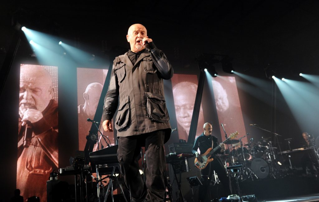 Peter Gabriel in concert at the AECC (Colin Rennie)