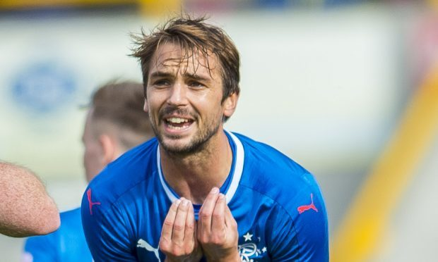 Niko Kranjcar in action for Rangers (SNS Group)
