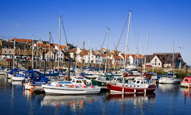 Anstruther Harbour in the East Neuk of Fife (Alamy)