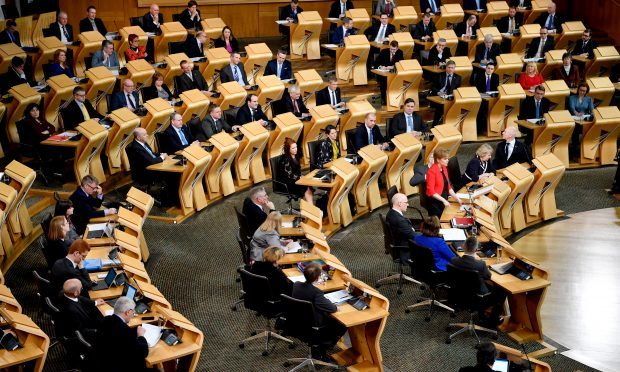 Holyrood debates a second independence referendum (Jeff J Mitchell - Pool /Getty Images)