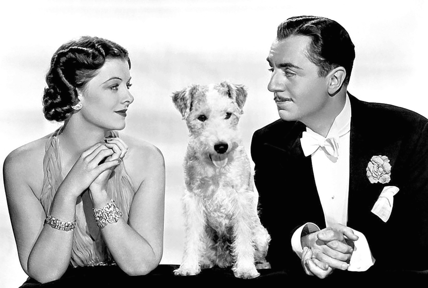 Myrina Loy and William Powell in After The Thin Man, 1936 (Allstar/MGM )