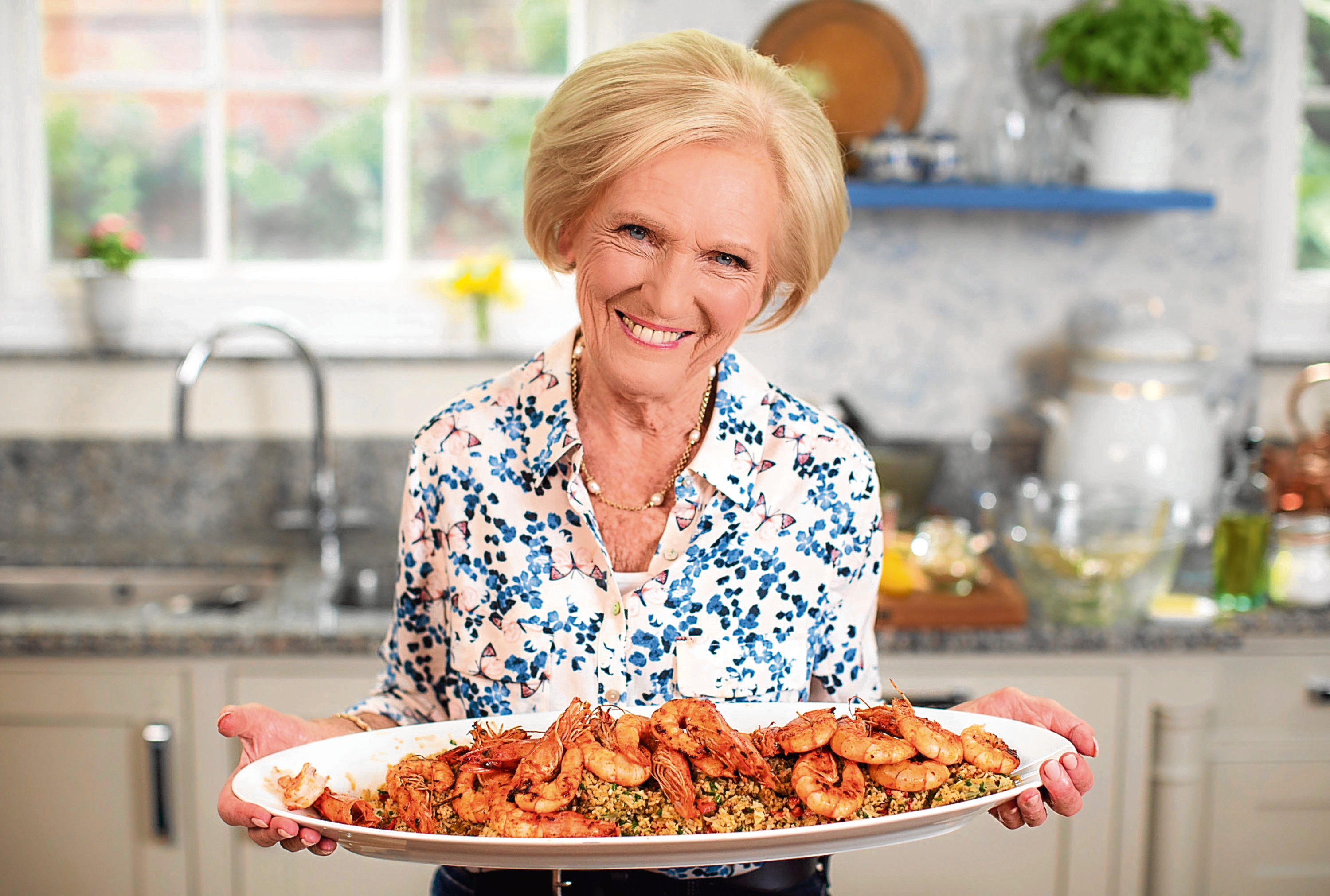 Mary Berry is one of the country's best loved TV stars (Sidney Street)