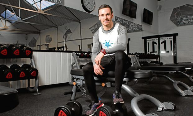 Fitness instructor Ben Smith who has epilepsy (Andrew Cawley / DC Thomson)