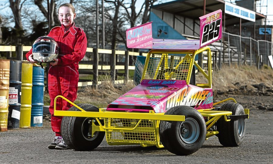 Eight-year-old stock car racer hopes to follow in famous father\'s ...