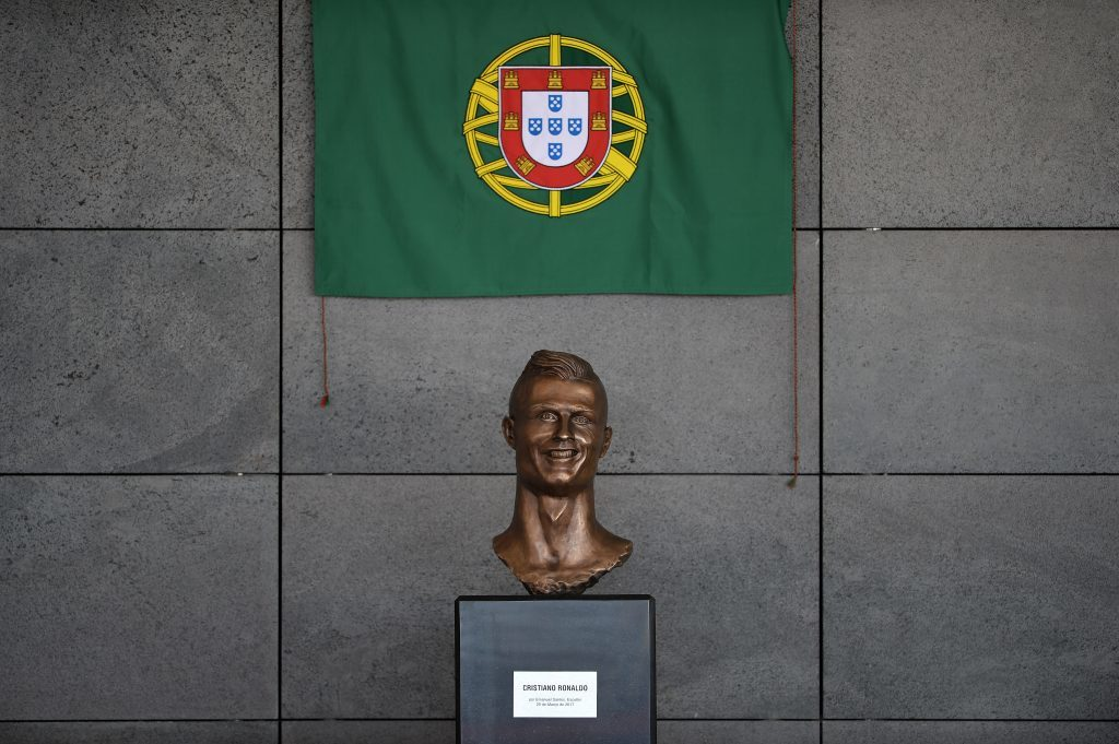 Statue of Cristiano Ronaldo (Octavio Passos/Getty Images)