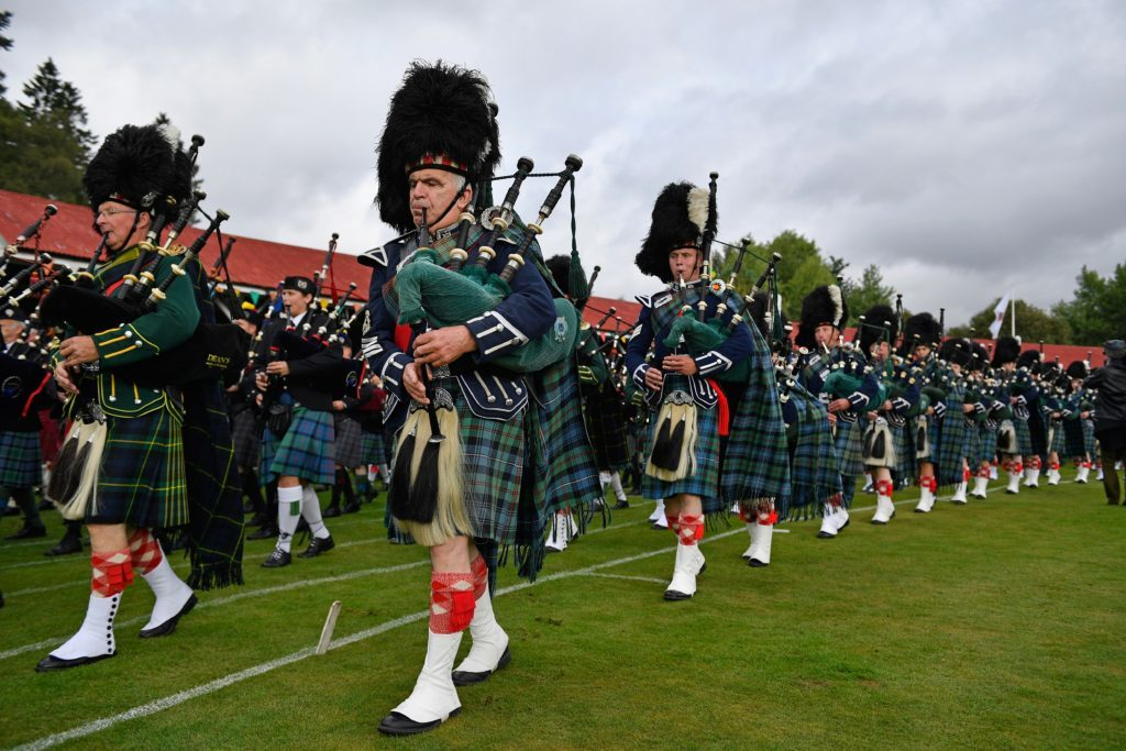 The Braemar Gathering. (Jeff J Mitchell/Getty Images)