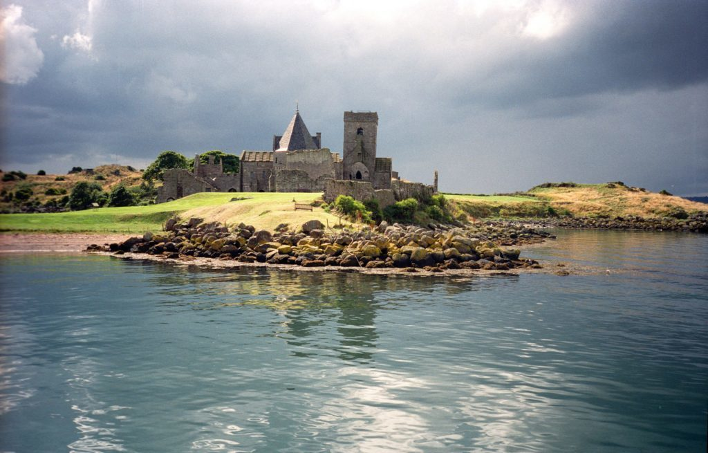 Inchcolm Island and Abbey Firth of Forth, Scotland