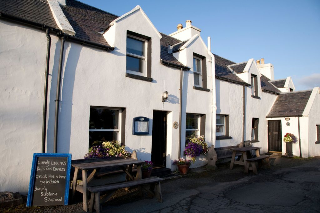Loch Bay Seafood Restaurant, Waternish; Isle of Skye