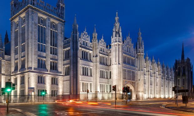 The recently refurbished Marischal College, Aberdeen (Alamy)