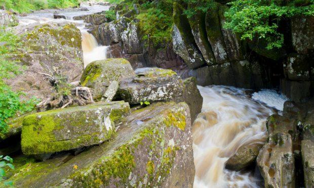 Bracklinn Falls,