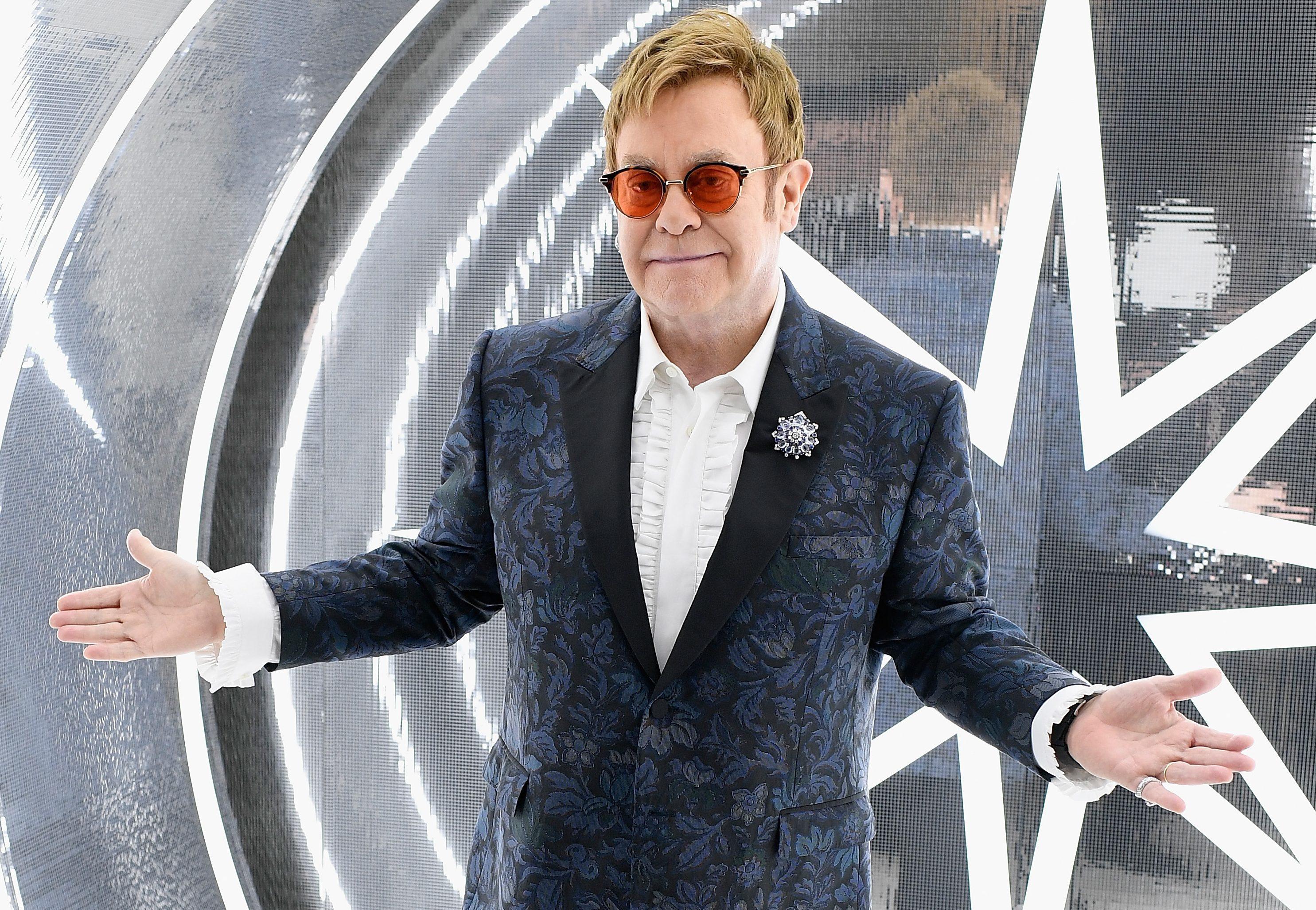 Elton John (Dimitrios Kambouris/Getty Images for EJAF)