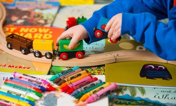 Thousands of nursery workers are being paid below the National Living Wage even though their employers receive Government funding through childcare vouchers and subsidies for parents, a report claims. (Dominic Lipinski/PA Wire)