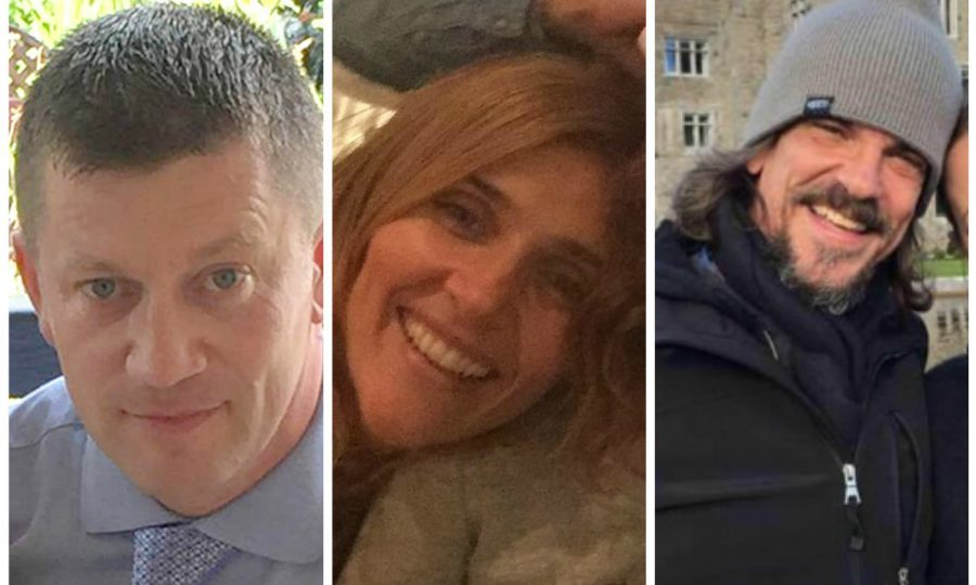 Keith Palmer, Aysha Frade and Kurt Cochran were killed in the attack