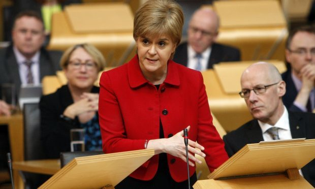 (Andrew Cowan/Scottish Parliament/PA Wire)