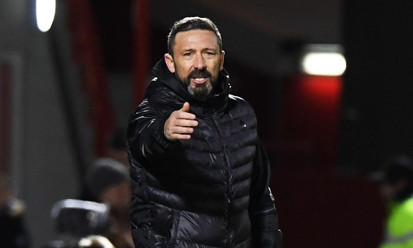 Aberdeen manager Derek McInnes (SNS Group)