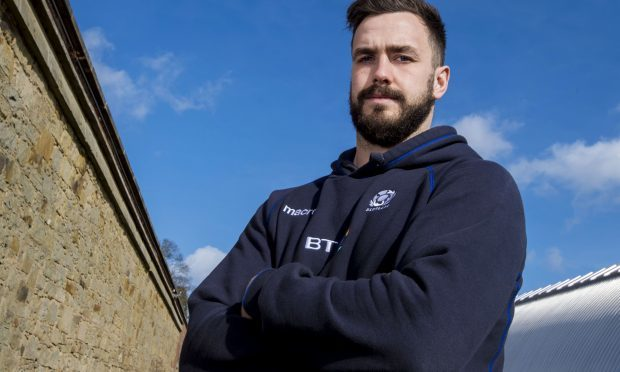 Scotland's Alex Dunbar looks ahead to their final Six Nations match against Italy (SNS)
