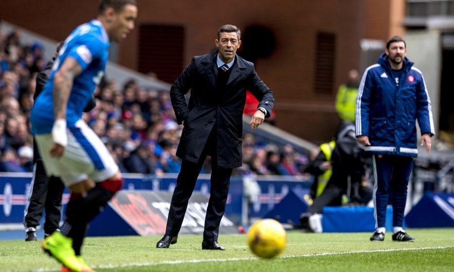 Rangers manager Pedro Caixinha (SNS Group)