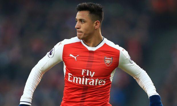 Arsenal forward Alexis Sanchez (Mike Egerton/PA Wire)