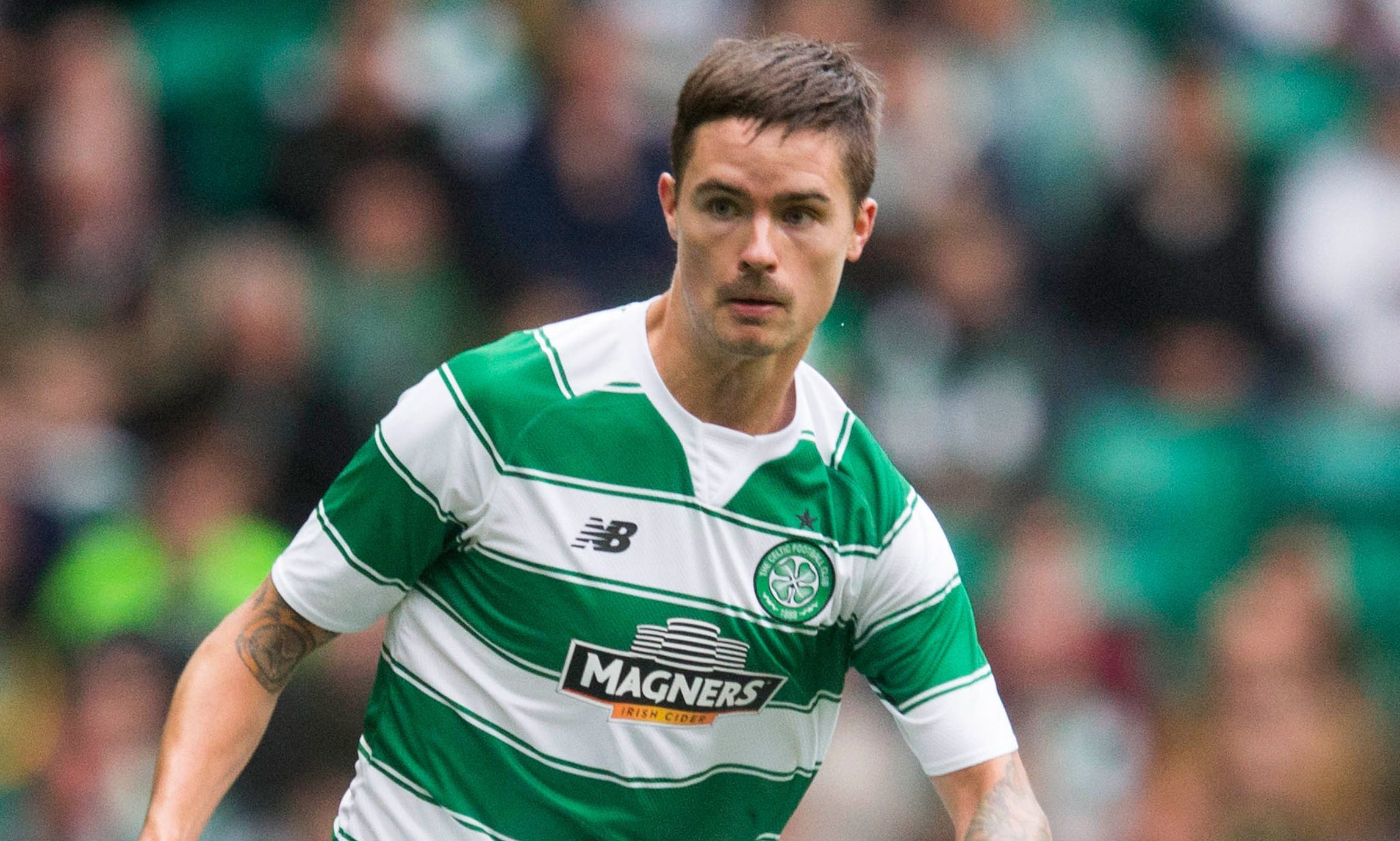 Celtic defender Mikael Lustig (Jeff Holmes/PA Wire)