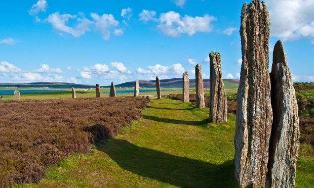 The Mystic Ring of Brodgar on the beautiful Orkney Islands (iStock)