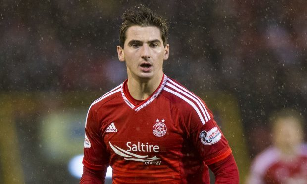 Kenny McLean in action for Aberdeen (SNS Group)