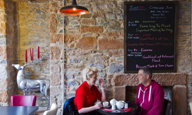 Just Be Cafe, Lockerbie (Andrew Cawley)