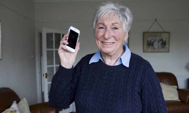 Irene Allan, who is happy after Raw Deal helped her claim back money from EE, after she was overcharged using her mobile phone abroad. (Andrew Cawley)