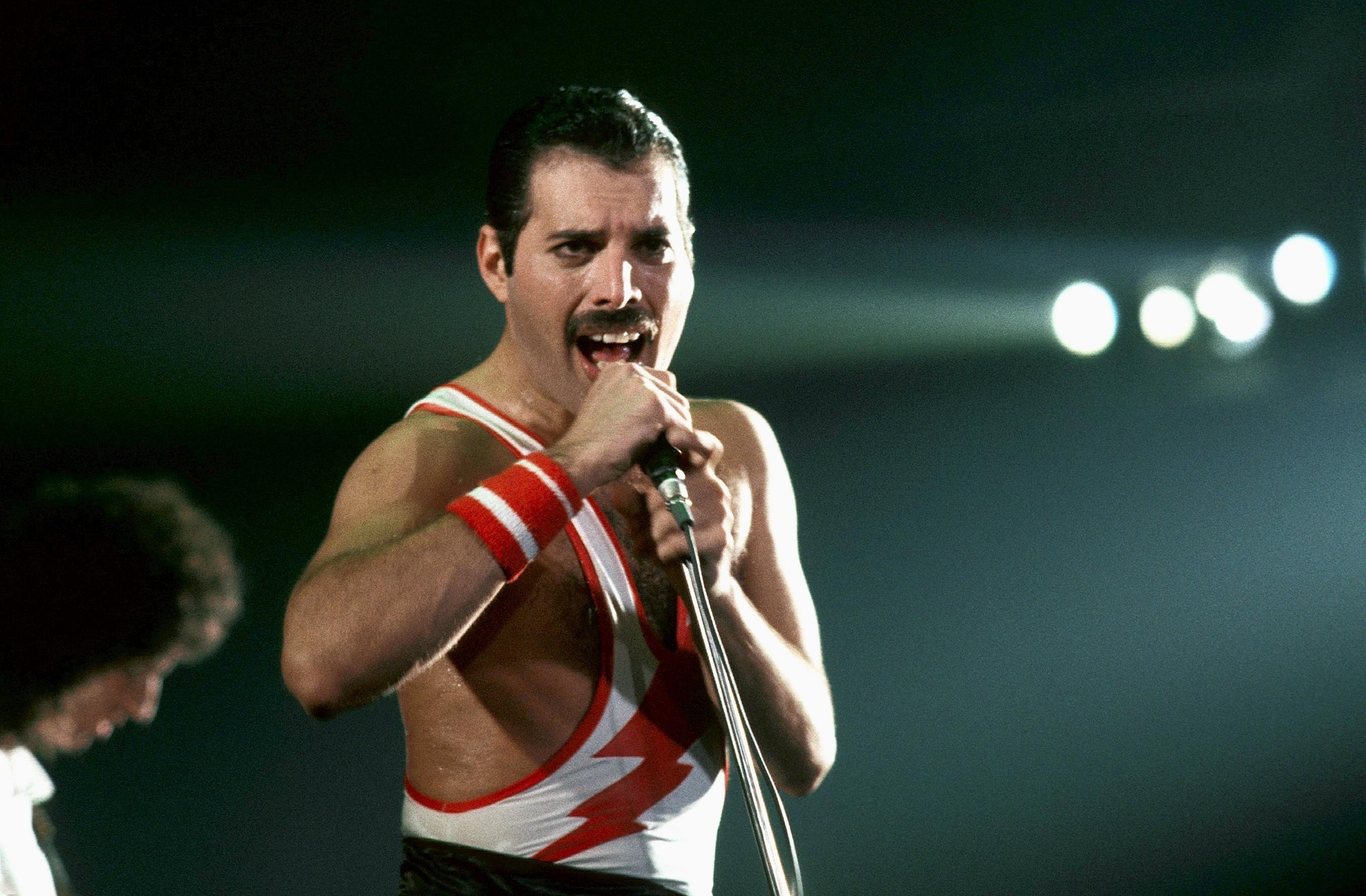 Queen's legendary frontman Freddie Mercury (Allstar)