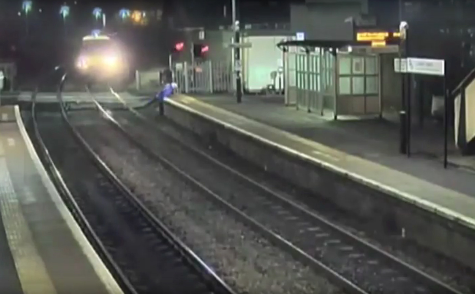 An average of one person encroaches on the tracks every hour (British Transport Police/PA Wire)