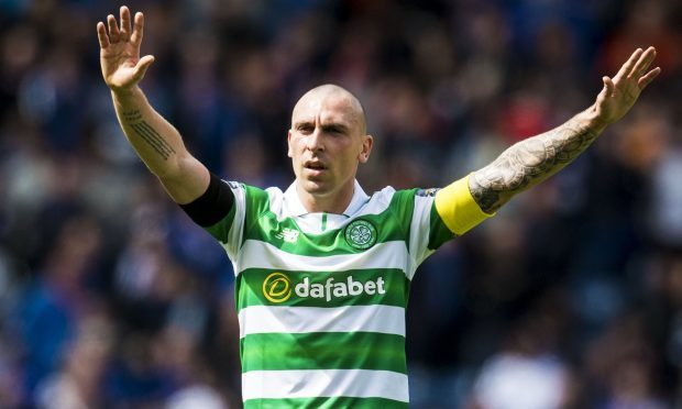 Celtic's Scott Brown in action (SNS Group)