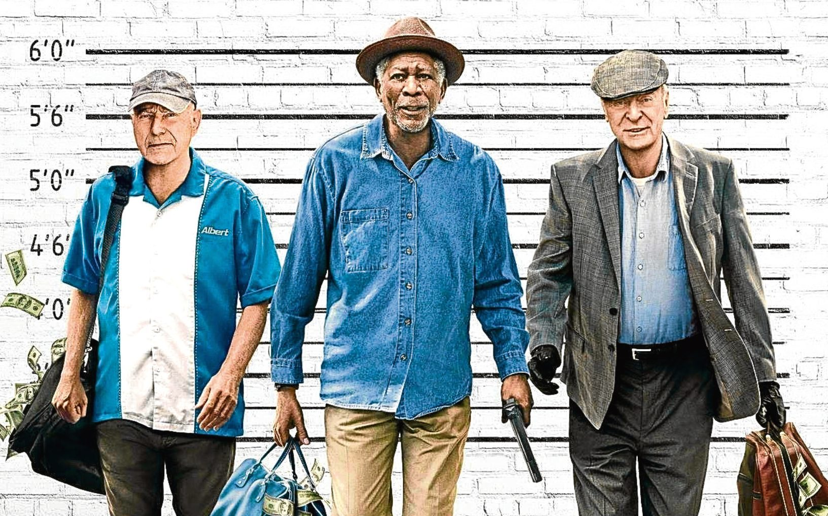 Alan Arkin, Morgan Freeman and Michael Caine in Going In Style (Allstar/WARNER BROS.)
